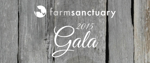 2015 Farm Sanctuary Gala - General Tickets header