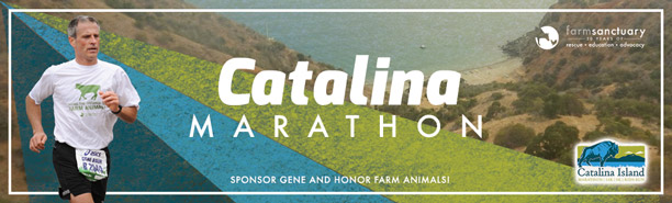 26.2 miles for farm animals - Catalina - eNL