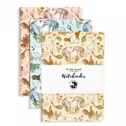 Purchase HERE: 3-PIECE NOTEBOOK SET - merch