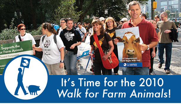 It's Time for the 2010 Walk for Farm Animals