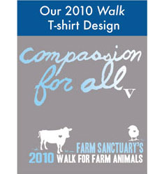 2010 Walk T-shirt Design