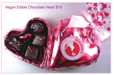 Vegan Edible Chocolate Heart